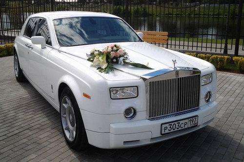 Роллс ройс для свадьбы